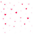 valentine background abstract hearts wallpaper vector image vector image