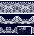 Lace Patterns Set vector image