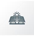 alternative energy icon line symbol premium vector image vector image