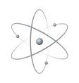 atom orbit symbol icon vector image