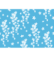 blue seamless pattern with liana vector image vector image