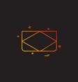 cards icon design vector image vector image