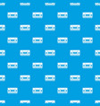 compartment carriage pattern seamless blue
