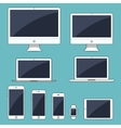 Electronic gadgets isolated vector image vector image
