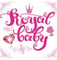 Royal baby vector image