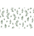 Seamless leaves pattern design for banner poster
