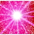 Summer Hot Sun Light vector image vector image