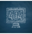 404 error program error icon vector image