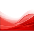 abstract red wavy background wallpaper vector image vector image