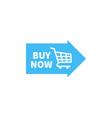 buy now sticker design buy now button icon design vector image vector image
