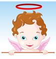 Cupid Angel vector image vector image