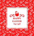easter muzzle square vector image vector image