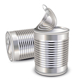 Tin cans vector | Price: 3 Credits (USD $3)
