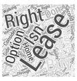 To Buy or To Lease Word Cloud Concept vector image vector image