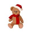 A bear doll vector image vector image