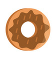 bread donut menu bakery food product flat style vector image vector image