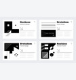 brutalism poster layout abstract geometric vector image