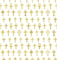 Cross seamless pattern2 vector image
