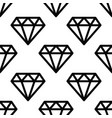 hipster diamond pattern abstract shapes seamless vector image vector image
