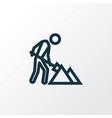maintenance outline symbol premium quality vector image