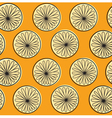 Orange texture or pattern vector image vector image