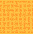 seamless geometric pattern - color design vector image vector image
