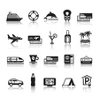 signs tourism travel sports first set icons vector image vector image