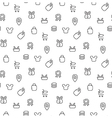 Trade sale seamless pattern vector image vector image