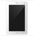 White tablet PC eps10 vector image vector image