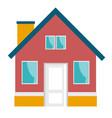 small house cartoon vector image