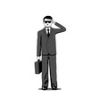 agent vector image vector image