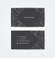 Engineering business card drawings
