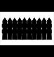 fence cartoon symbol icon design beautiful vector image vector image