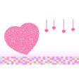 heart bg 02 vector image vector image