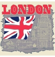 London Typography Graphics T-shirt design vector image vector image