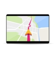 Navigation in smartphone and tablet vector image
