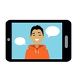 Video Communication Smart Phone vector image vector image