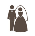 wedding icon cartoon graphic vector image