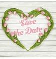 wedding invitation card eps 10 vector image