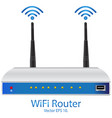 wifi router eps 10 vector image vector image