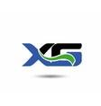 XG logo vector image vector image