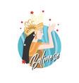 balinese woman vector image vector image