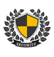 business security vector image