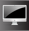 Computer display icon vector image vector image