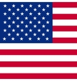 flag america vector image