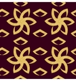 Floral pattern of ornate flowers vector image vector image