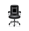object office chair vector image vector image