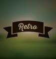 Retro and Vintage label vector image