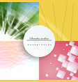 seamless geometric pattern of colored lines vector image vector image