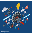 SEO optimization concept vector image